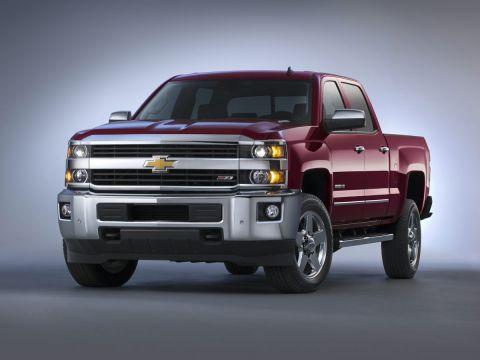Pre-Owned 2016 Chevrolet Silverado 2500HD High Country 4WD 4D Crew Cab